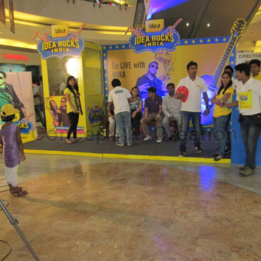 IDEA ROCKS INDIA – AUDITION & ACTIVATIONS